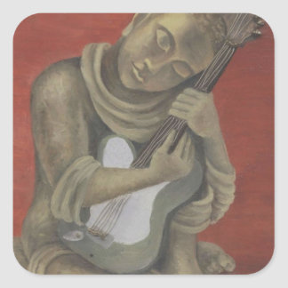 Buddha's Song Square Sticker
