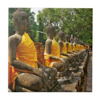 Buddhas tailandés teja  ceramica