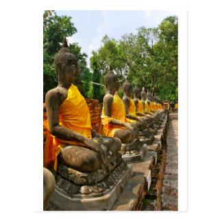Buddhas tailandés postal