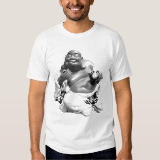 buddhaT-Camisa feliz Playeras