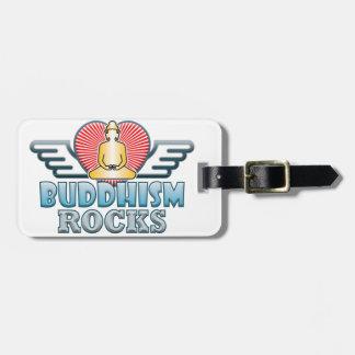 Buddhism B Rocks Tag For Luggage