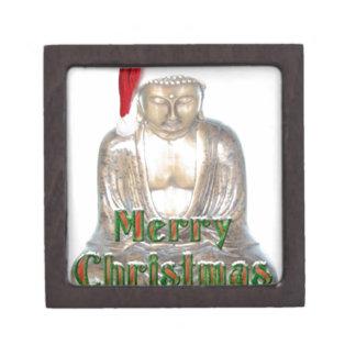 Buddhism - Buddha - Merry Christmas Hat Gift Box