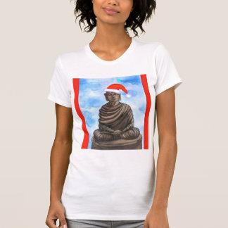 Buddhism - Buddha - Merry Christmas Hat T Shirt