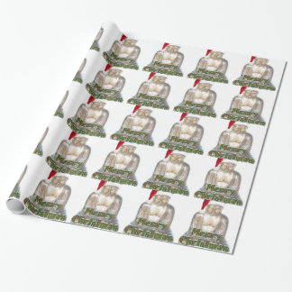 Buddhism - Buddha - Merry Christmas Hat Wrapping Paper