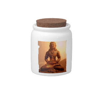 Buddhism Candy Jar