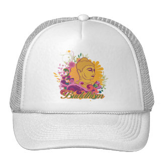 Buddhism Color Mesh Hats