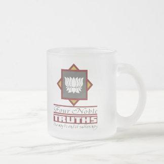 Buddhism cuatro verdades nobles tazas de café