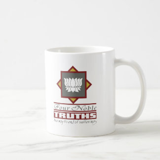 Buddhism cuatro verdades nobles taza de café