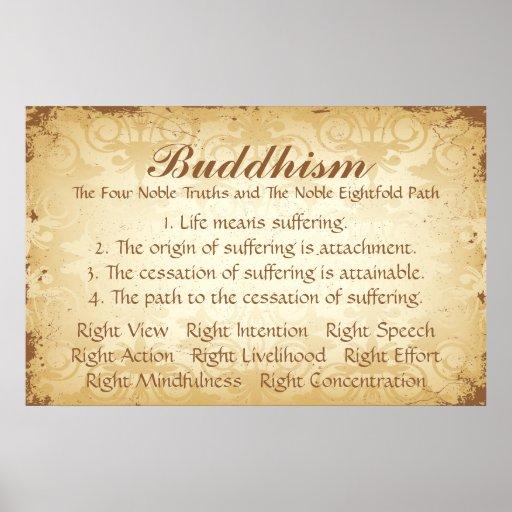 Buddhism cuatro y ocho impresiones