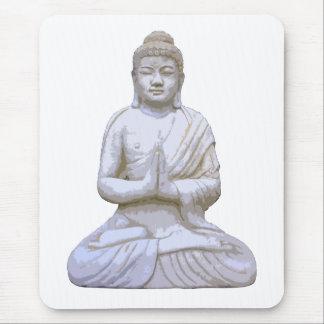Buddhism del budista del de Buda que se sienta Alfombrilla De Ratones