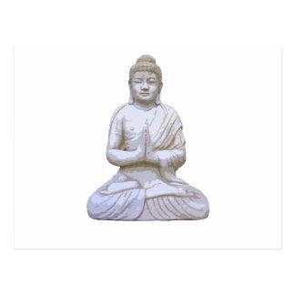 Buddhism del budista del ~ de Buda que se sienta Postal