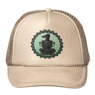 buddhism dog trucker hat