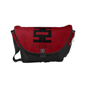 Buddhism: Double Ax Small Messenger Bag