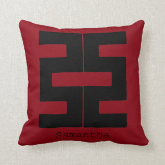 Buddhism: Double Ax Throw Pillow