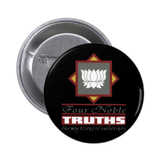 Buddhism Four Noble Truths Pinback Buttons