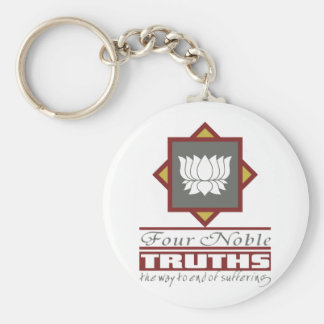 Buddhism Four Noble Truths Keychains