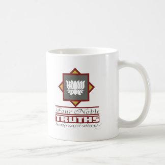 Buddhism Four Noble Truths Classic White Coffee Mug