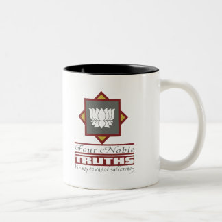 Buddhism Four Noble Truths Two-Tone Coffee Mug