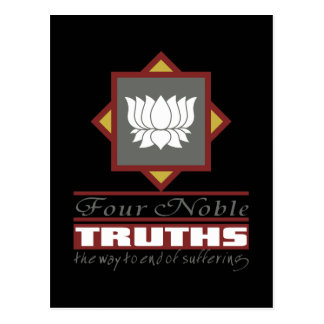 Buddhism Four Noble Truths Postcard