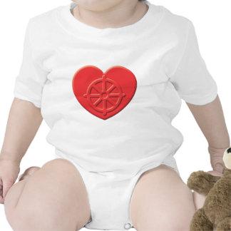 Buddhism Heart T Shirts