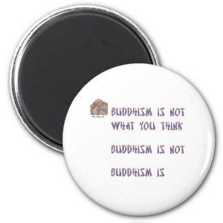 Buddhism is Not What You Think Magnet