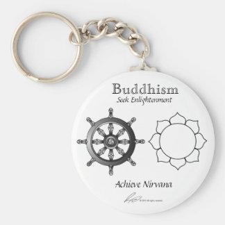 Buddhism - Keychain