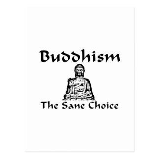 Buddhism la opción sana postal