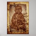 Buddhism Monk Poster