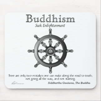 Buddhism - Passage Mousepad