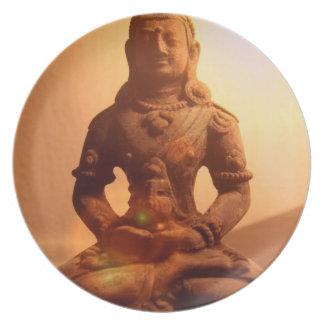 Buddhism Plate