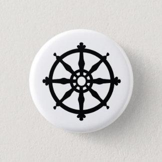 Buddhism Religious Symbol Pinback Button