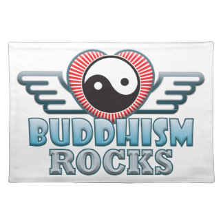 Buddhism Rocks Cloth Placemat