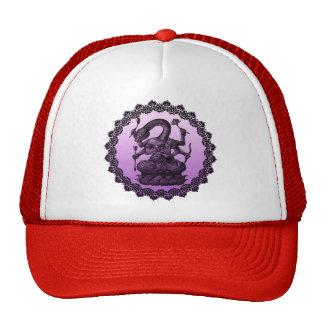 buddhism snake mesh hat
