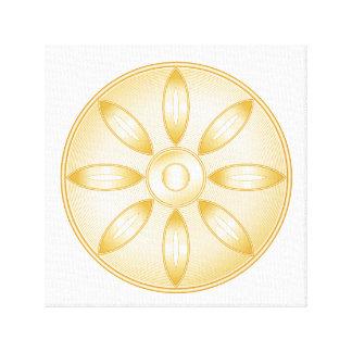 Buddhism Symbol Canvas Print