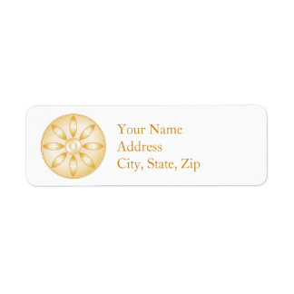 Buddhism Symbol Label