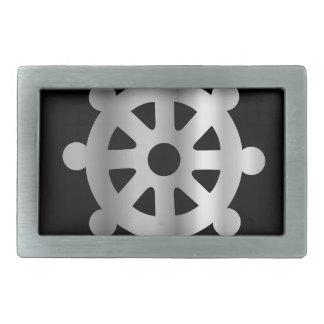 buddhism wheel of dharma.jpg rectangular belt buckles