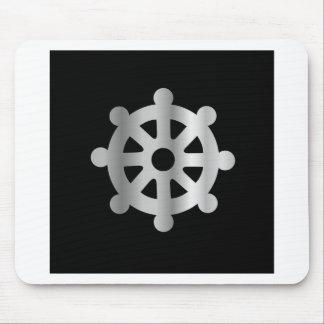 buddhism wheel of dharma.jpg mouse pad