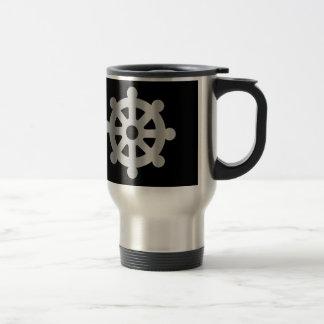 buddhism wheel of dharma.jpg 15 oz stainless steel travel mug