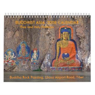 BUDDHIST ASIA  2008 CALENDAR