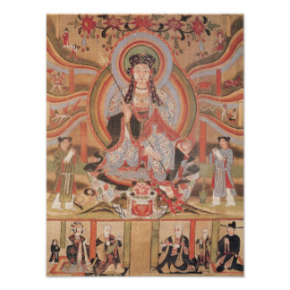 Buddhist banner posters