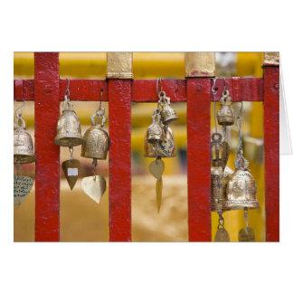 Buddhist Bells at Doi Suthep Temple Card