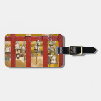 Buddhist Bells at Doi Suthep Temple Luggage Tag
