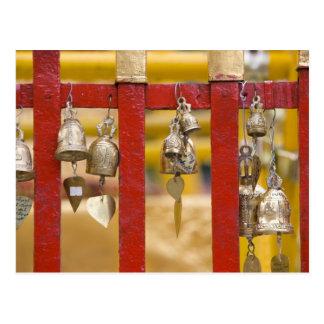 Buddhist Bells at Doi Suthep Temple Post Card