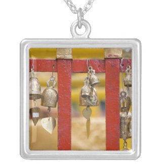Buddhist Bells at Doi Suthep Temple Silver Plated Necklace