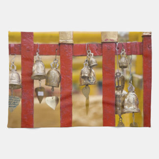 Buddhist Bells at Doi Suthep Temple Towel