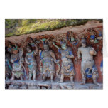Buddhist Cave of Dazu, China Cards
