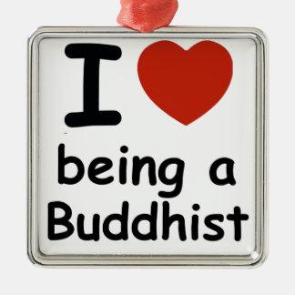 Buddhist design metal ornament