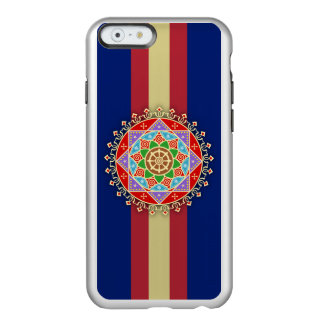 Buddhist Dharma Wheel Mandala Incipio Feather® Shine iPhone 6 Case