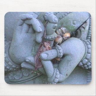 BUDDHIST DHARMACHAKRA MUDRA MOUSEPAD