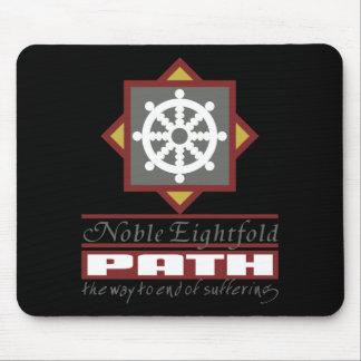 Buddhist Eightfold Path Mouse Pad